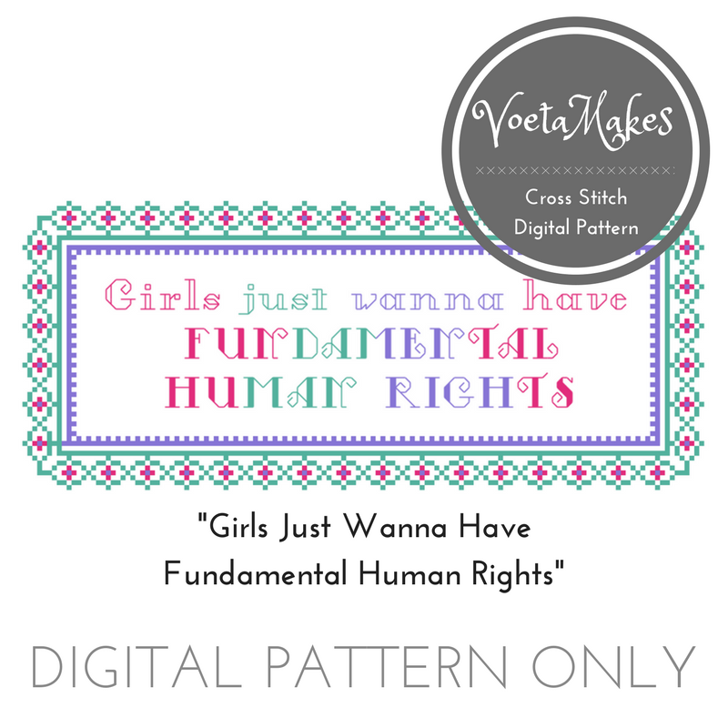 Free Cross Stitch Patterns – Voeta Says